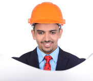 Asian Engineer Constructions Royalty Free Stock Image