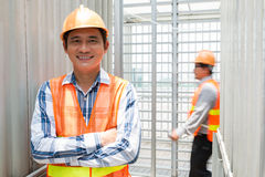 Asian engineer Stock Photos
