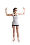 asian exercise woman Στοκ Εικόνα
