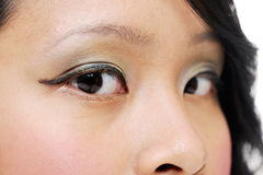 Asian eyes Stock Photo