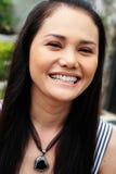 Asian face Stock Photo