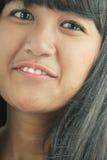 Asian face Royalty Free Stock Photo