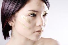 Asian face shot Stock Photography