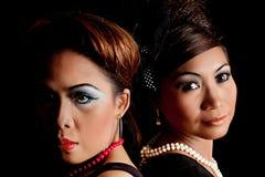 Asian Faces Royalty Free Stock Photos