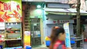 Asian families shopping in Hong Kong