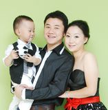 Asian family Stock Photo