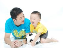 Asian Family Stock Image
