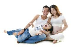 Asian family Royalty Free Stock Photography