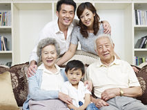 Free Asian Family Royalty Free Stock Image - 32002756