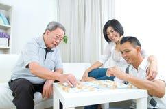 Asian family Stock Image