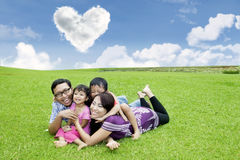 Fun time with family Royalty Free Stock Photography