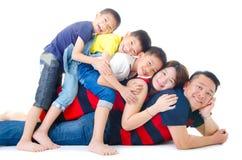 Asian family Royalty Free Stock Photo
