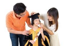 Asian family Stock Photos
