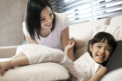 Asian Family Lifestyle Royalty Free Stock Image