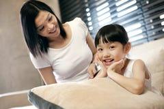Asian Family Lifestyle Stock Image