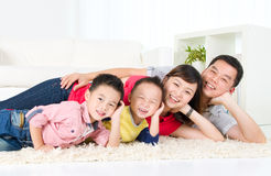 Asian family Royalty Free Stock Photography