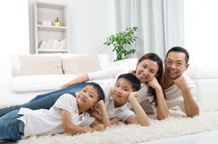 Asian family Royalty Free Stock Image