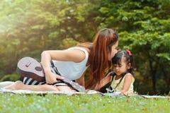 Asian family Royalty Free Stock Photos