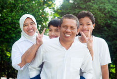 Asian family Royalty Free Stock Photos