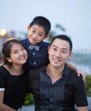 Asian Family portrait Stock Photos