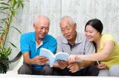 Asian family Royalty Free Stock Image