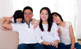 Asian family Stock Images
