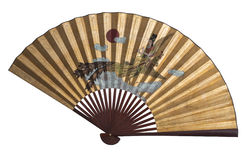 Asian Fan Isolated Royalty Free Stock Image