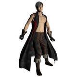 Asian Fantasy Warrior royalty free stock photography