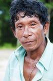 Asian Farmer. An Asian farmer in a farm Stock Photography
