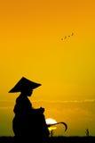 Asian farmer Royalty Free Stock Photography