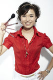 Asian fashion female Stock Photography