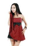 Asian fashion girl Royalty Free Stock Photo