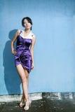 Asian fashion girl Royalty Free Stock Photos