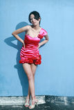Asian fashion girl Royalty Free Stock Photo