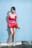 Asian fashion girl Stock Photography