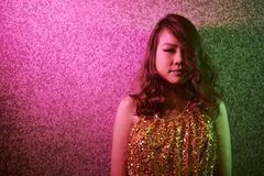 Asian fashion model stock photos