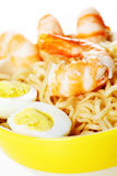 Asian fast food noodle a Stock Image