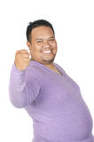 Asian fatman Stock Photo