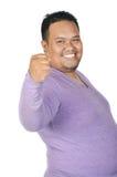 Asian fatman Stock Photos