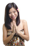 Asian female Stock Photography