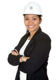 Asian  female architect Royalty Free Stock Images