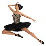 Asian Female Ballet Dancer Royalty Free Stock Photos