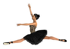 Asian Female Ballet Dancer Royalty Free Stock Photography