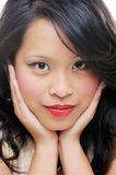 Asian female beauty Royalty Free Stock Photography