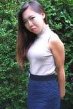 Asian female beauty. royalty free stock photos