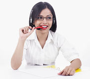 Asian female business executive Royalty Free Stock Images