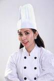 Asian female chef portrait Royalty Free Stock Images