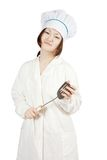 Asian female cook Royalty Free Stock Photography