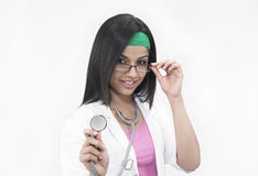 Asian female doctor Stock Photos