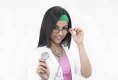 Asian female doctor Stock Photos